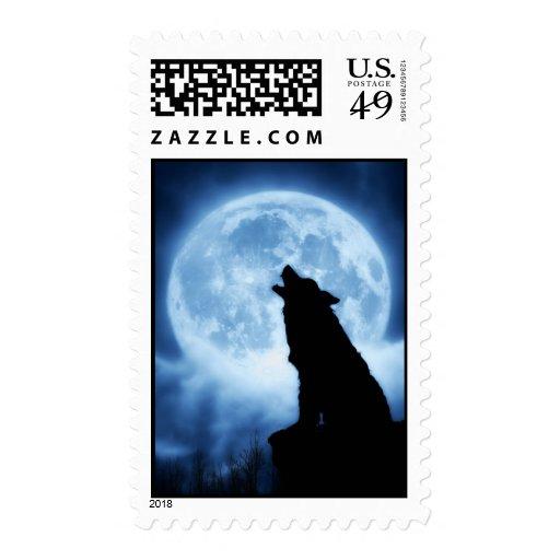 Gritos de los sellos del lobo de la noche
