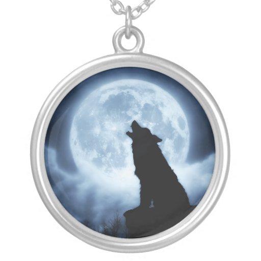 Gritos del collar del lobo de la noche