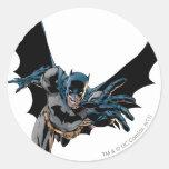 Gritos y estocadas de Batman Pegatina