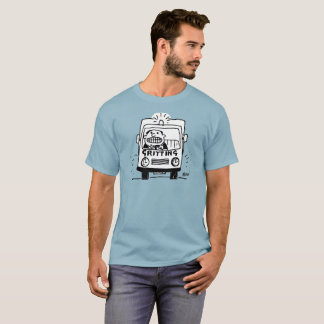 Gritting Lorry has a Driver Gritting His Teeth T-Shirt