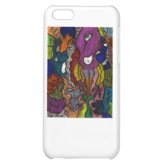 Gritty Alein Puzzle iPhone 5C Cases