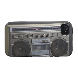 Gritty Boom Box Case-Mate iPhone 4 Cases