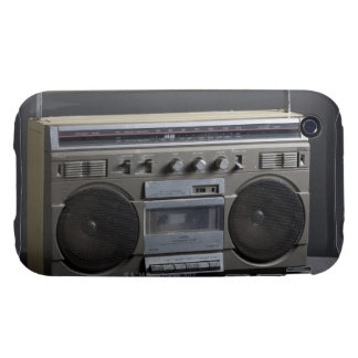 Gritty Boom Box Tough iPhone 3 Cover
