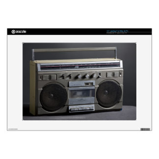 Gritty Boom Box Laptop Decals