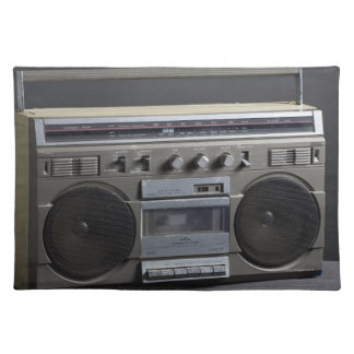 Gritty Boom Box Place Mat