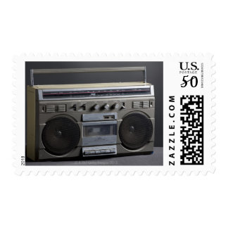 Gritty Boom Box Postage