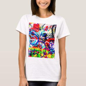 Gritty Crazy Graffiti T-Shirt