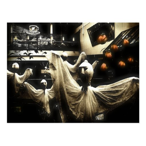 Gritty ghosties postcard