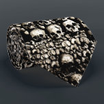 """Gritty skulls from the Catacombs of Paris Tie<br><div class=""""desc"""">Gritty skulls from the Catacombs of Paris Tie</div>"""