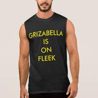 Grizabella is On Fleek Sleeveless Shirt