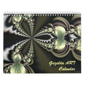 Grizelda ART 2008 Calendar