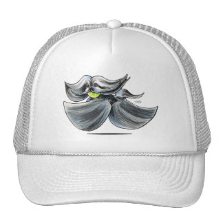 Grizzle Lhasa Apso Play Off-Leash Art™ Trucker Hat