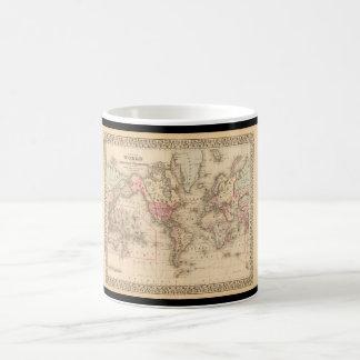 Grizzled World Map 23 Coffee Mug
