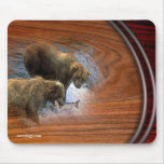 GRIZZLEY BEARS MOUSE PADS