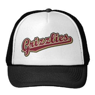 Grizzlies in Maroon and Gold Trucker Hat