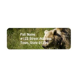 Grizzlies Mailing Labels