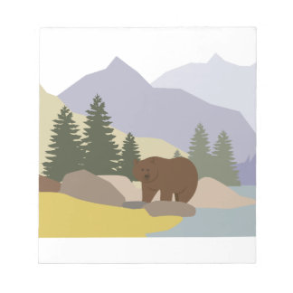 Grizzly Alaska Note Pad