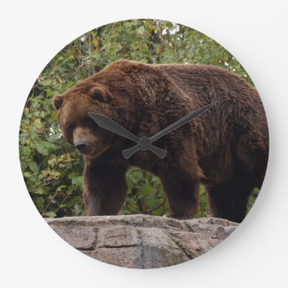 grizzly-bear-002 relojes de pared
