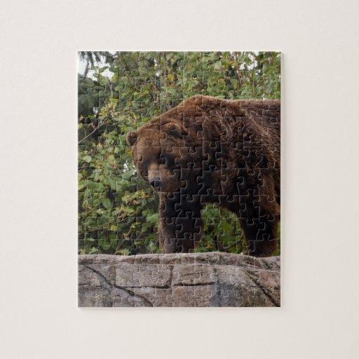 grizzly-bear-002 rompecabezas con fotos