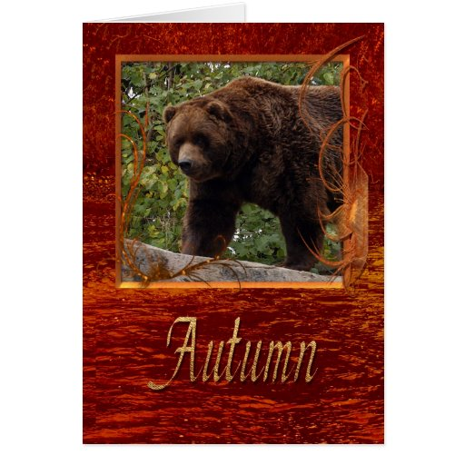 grizzly-bear-013 greeting card
