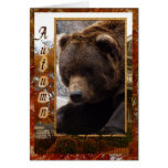 grizzly-bear-016 greeting card