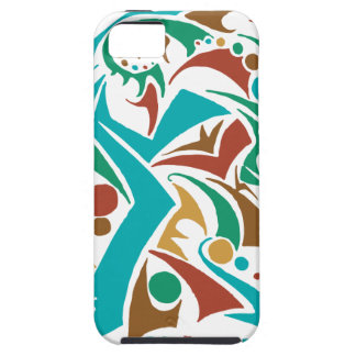 Grizzly Bear Abstract Design iPhone SE/5/5s Case