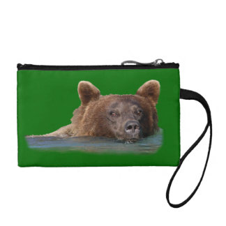 grizzly bear and emerald water change purse
