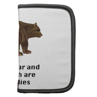 Grizzly Bear and Sasquatch are Big Buddies Gifts Planner