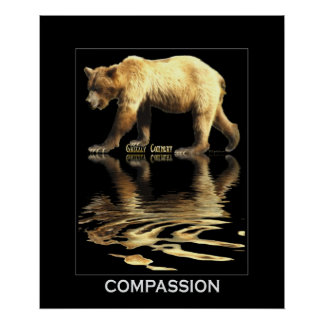 Grizzly Bear Art Poster