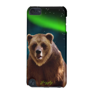 Grizzly Bear & Aurora Wildlife Ipod Touch Case