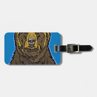 Grizzly Bear Bag Tag