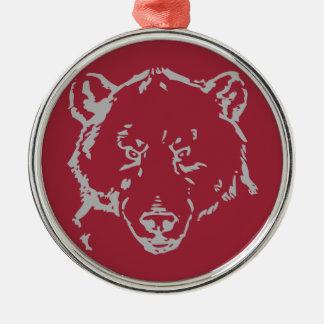 Grizzly Bear Ceramic Ornament