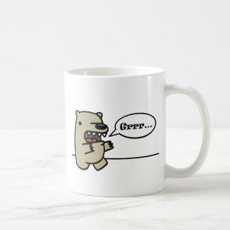 Grizzly Bear Classic White Coffee Mug