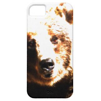 Grizzly Bear Closeup Wet Watercolor Nature Art iPhone SE/5/5s Case