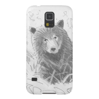 Grizzly Bear Cub Drawing Case For Galaxy S5