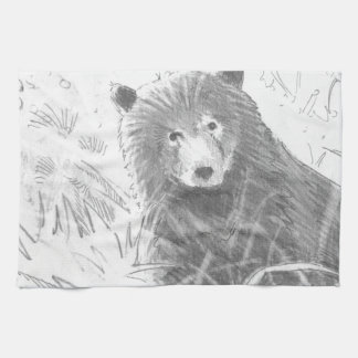 Grizzly bear cubs drawing - photo#13