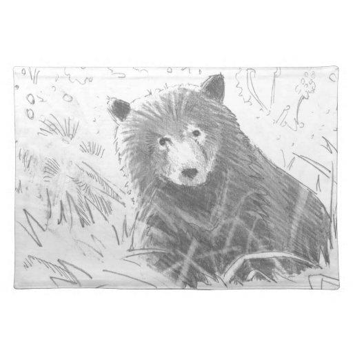 Grizzly bear cubs drawing - photo#6