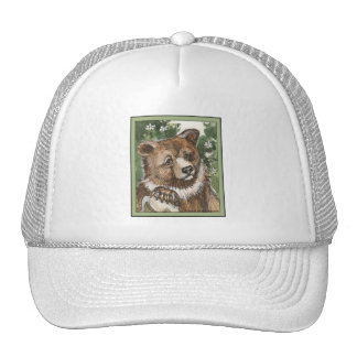 Grizzly Bear Cub Trucker Hat