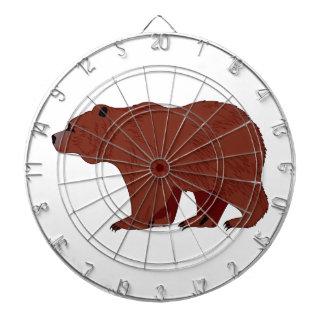 Grizzly Bear Dart Board