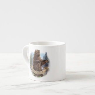 Grizzly Bear Espresso Cup