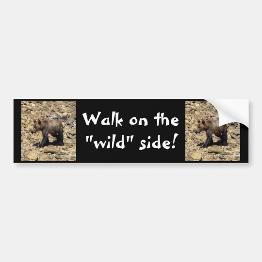 Grizzly Bear Gifts Bumper Sticker