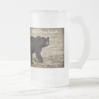 Grizzly Bear in Antique Mugs