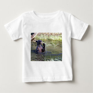 Grizzly Bear in the Water Baby T-Shirt
