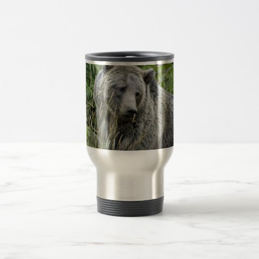 Grizzly Bear in Yellowstone National Park Mug