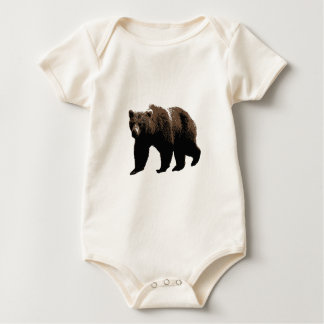 Grizzly Bear Infant One Piece Baby Romper Bodysuit