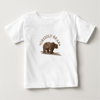 grizzly bear infant t-shirt