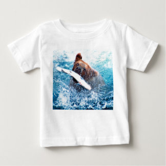 Grizzly Bear Infant Tee Shirt