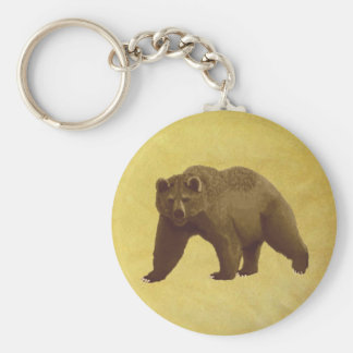 Grizzly Bear Key Chain