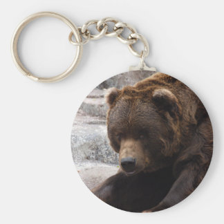 Grizzly Bear Keychains