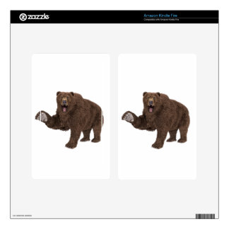Grizzly Bear Kindle Fire Skins